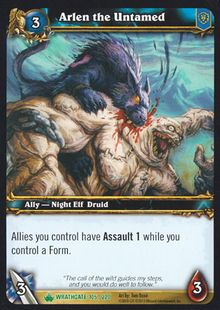 Arlen the Untamed TCG Card.jpg