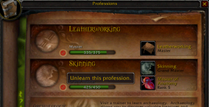 Profession - Wowpedia - Your wiki guide to the World of Warcraft