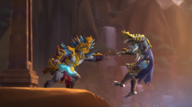 Zandalari civil war