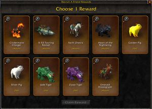 Recruit-A-Friend - Wowpedia - Your wiki guide to the World of Warcraft