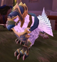 Image of Armored Snowy Gryphon