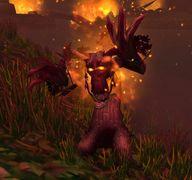 Darnassian Protector on Fire.jpg