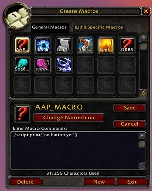 Macro - Wowpedia - Your wiki guide to the World of Warcraft