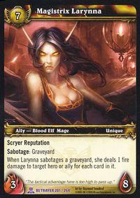 Magistrix Larynna TCG Card.jpg