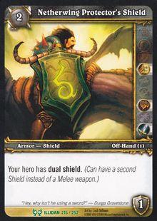 Netherwing Protector's Shield TCG Card.jpg