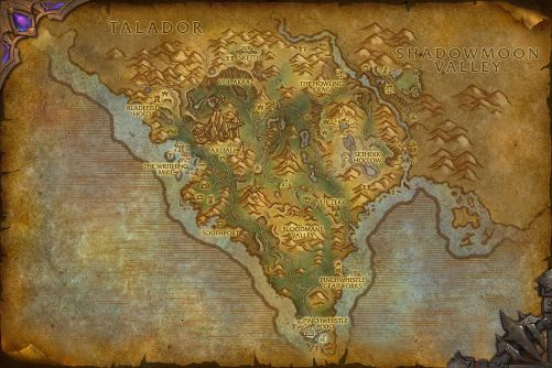 Spires of Arak map