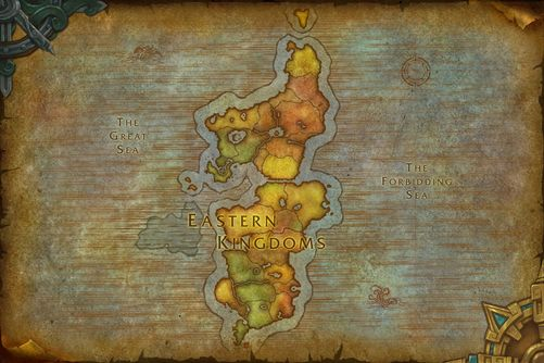 Eastern Kingdoms map