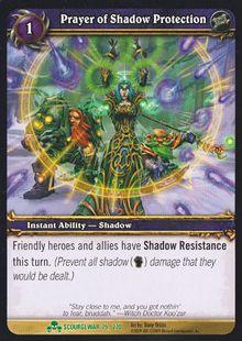 Prayer of Shadow Protection TCG Card.jpg