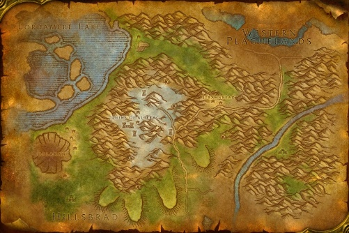 Alterac Mountains map
