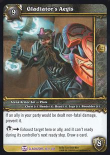 Gladiator's Aegis TCG Card.jpg