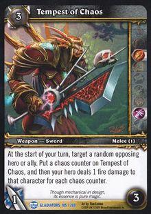 Tempest of Chaos TCG Card.jpg