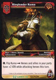 Ringleader Kuma TCG Card.jpg