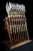 Alliance Pole Arms Weapon Rack and Halberds.jpg