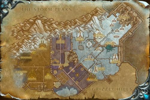 Zul'Drak map