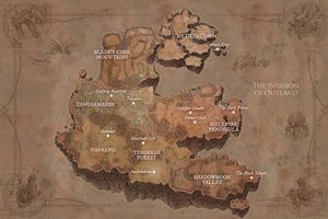 Outland Wowpedia Your Wiki Guide To The World Of Warcraft