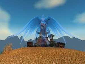 Shrine of the Fallen Warrior in the Northern Barrens