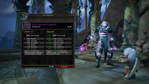 Item upgrading - Wowpedia - Your wiki guide to the World of