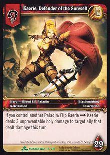 Kaerie, Defender of the Sunwell TCG Card.jpg