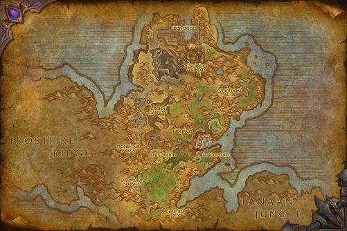 Gorgrond map