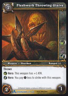 Fleshwerk Throwing Glaive TCG Card.jpg