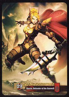 Kaerie, Defender of the Sunwell TCG Card Back.jpg