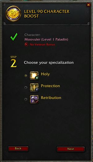 Character Boost Wowpedia Your Wiki Guide To The World Of Warcraft