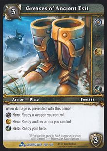 Greaves of Ancient Evil TCG Card.jpg