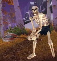 Image of Skeletal Woodcutter