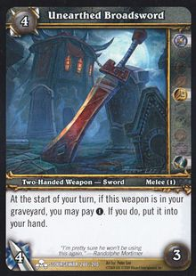 Unearthed Broadsword TCG Card.jpg