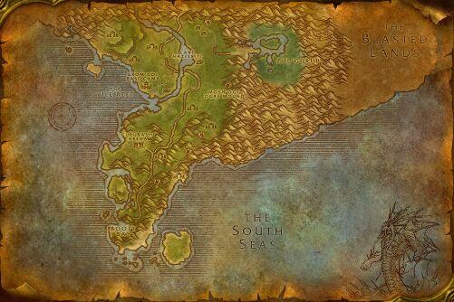 Stranglethorn map