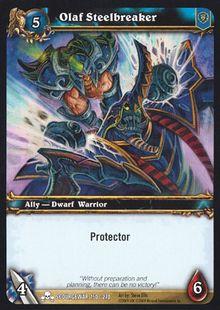 Olaf Steelbreaker TCG Card.jpg