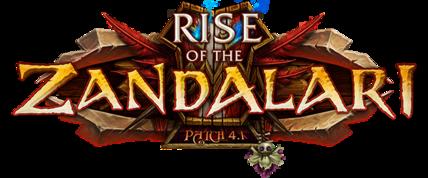 Rise of the Zandalari logo