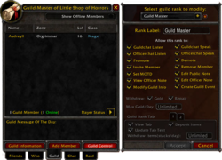 Guild list - Wowpedia - Your wiki guide to the World of Warcraft