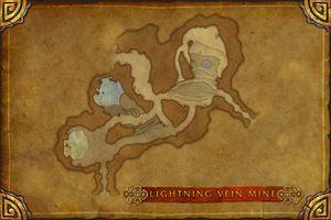 Lightning Vein Mine map