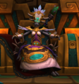 Talanji sitting on the Golden Throne.png