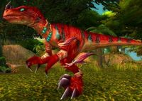 Image of Young Lashtail Raptor