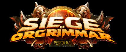 Siege of Orgrimmar logo