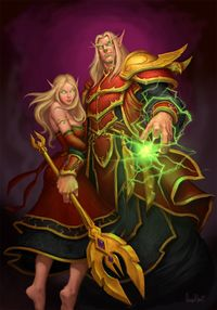 Blood Elf Wowpedia Your Wiki Guide To The World Of Warcraft