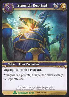 Staunch Reprisal TCG Card.jpg