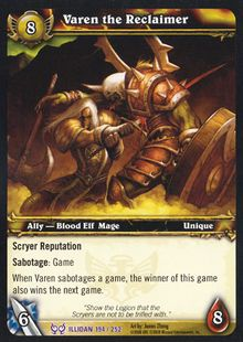 Varen the Reclaimer TCG Card.jpg