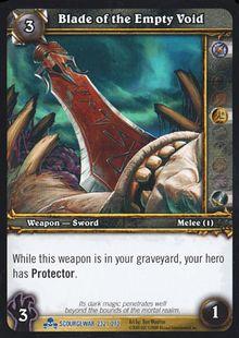 Blade of the Empty Void TCG Card.jpg