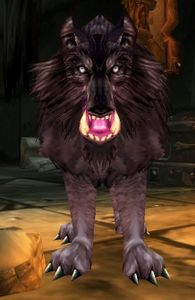 Image of Bloodaxe Worg Pup