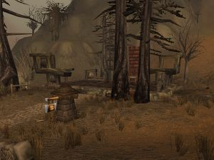 The Shady Rest Inn, on the border of Dustwallow Marsh and Southern Barrens