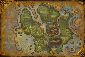 Cataclysm map parison Wowpedia Your wiki guide to the World