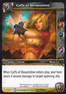 Cuffs of Devastation TCG Card.jpg