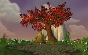 Thunderpaw Peak in the Jade Forest