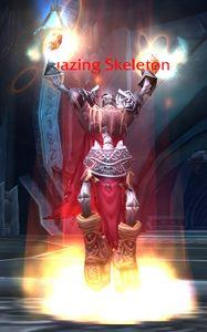 Image of Blazing Skeleton