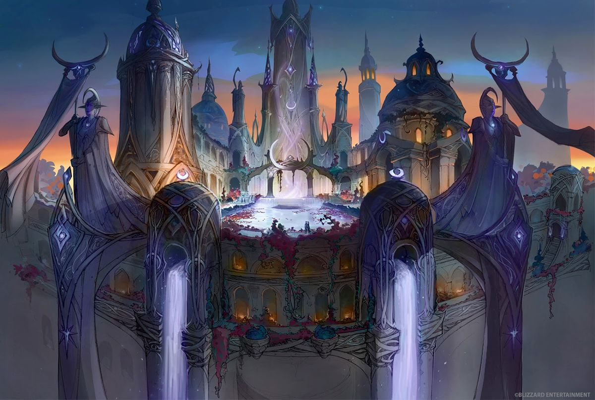 Suramar - Wowpedia - Your wiki guide to the World of Warcraft on