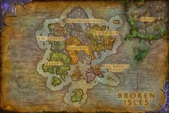 Broken Isles Wowpedia Your Wiki Guide To The World Of Warcraft