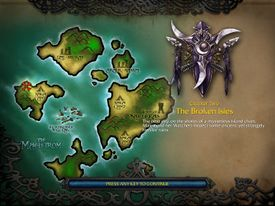 The Broken Isles (WC3 NightElf)